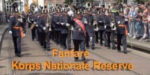 FANFARE 'KORPS NATIONALE RESERVE' FKNR Nationale Taptoe
