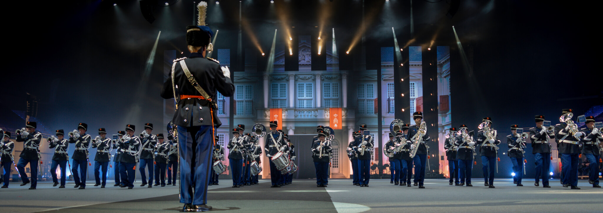 Orkest van de Koninklijke Marechaussee OKM Nationale Taptoe (The Netherlands Military Tattoo) 2018